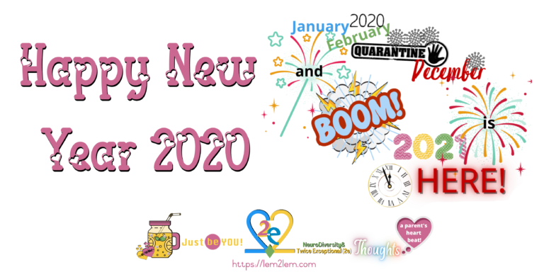 Happy New Year 2020 for Lemon2Lemade © copyright