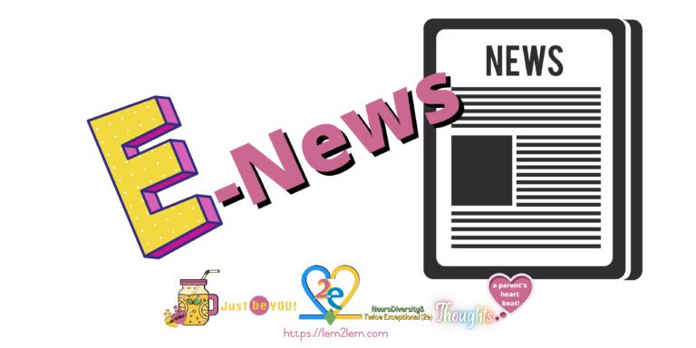 E-news header for Lemon2Lemonade © copyright